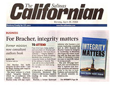 Integrity Matters by James Bracher and Dan Halloran